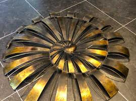 Large Metal Spiral Wall Art