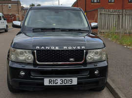 Land Rover Range Rover Sport, 2006 (06) Black Estate, Automatic Diesel, 105,400 miles