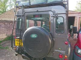 Land Rover Defender, 2001 (Y) Grey Estate, Manual Diesel, 69,190 miles