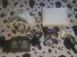 Xbox  360 bundle with games and accessories for sale