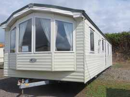 Willerby static caravan  35x12 two bedrooms ideal for all year round use