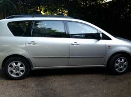 Toyota Avensis Verso, 7 seater, petrol