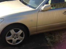 Lexus Ls, 2004 (04) Gold saloon, Automatic Petrol, 234376 miles