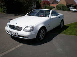 Mercedes SLK 230 KOMPRESSOR AUTO, 1997 (P) white convertible, Automatic Petrol, 194000 miles