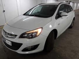 Vauxhall Astra, 2014 (14) White Estate, Automatic Petrol, 24,050 miles