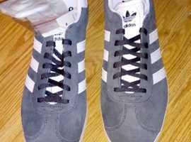 Brand New Original Adidas Gazelles Size 11, Mens trainers. £45