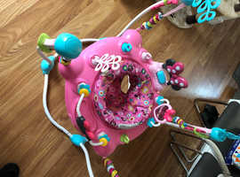 Musical Minnie Mouse Jumperoo hasn't been used much