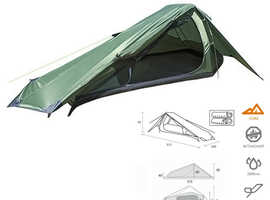 Summit Eiger Trekker Tent 2 Man Person Camping Quick Pitch new
