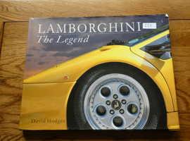 LAMBORGHINI; THE LEGEND :  HARDBACK COVER BOOK