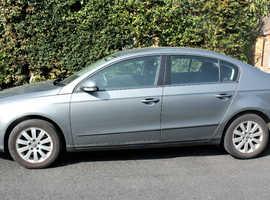 Volkswagen Passat, 2006 (06) Grey Saloon, Manual Petrol, 120,000 miles