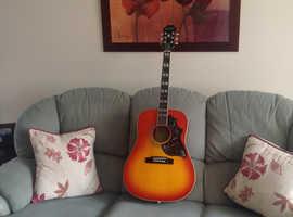 Epiphone Hummingbird Pro electro-acoustic guitar