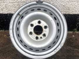 """2017 IVECO DAILY 16"""" STEEL WHEEL"""