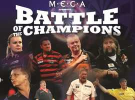 Battle of the champitions Darts