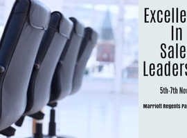 Excellence in Sales and Leadership, 5th-7th November - Marriott Regents Park, london