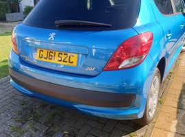 Peugeot 207, 2011 (61) Blue Hatchback, Manual Diesel, 74,891 miles