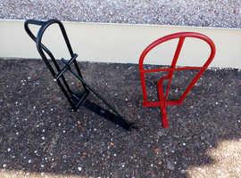two saddle racks