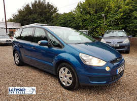 Ford S-Max 2.0 Litre Petrol / Manual, 5 Door 7 Seater MPV, New MOT, Just Serviced, 2 Owners From New.