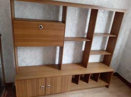 Shelving display cabinet