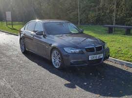 BMW 3 Series, 2006 (56) Grey Saloon, Manual Petrol, 98,000 miles