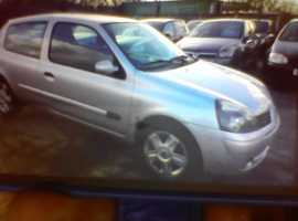 Renault Clio, 2006 (06) Silver Hatchback, Manual Petrol, 54,000 miles