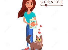 Pet sitter/walker