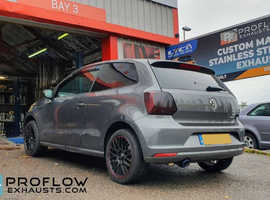 Proflow Exhausts Custom Back Box and Tailpipe for VW Polo GTI