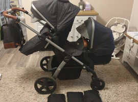 Silver cross wave pushchair