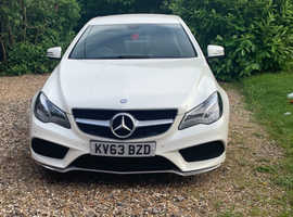 Mercedes E Class, 2013 (63) White Coupe, Automatic Diesel, 82,725 miles
