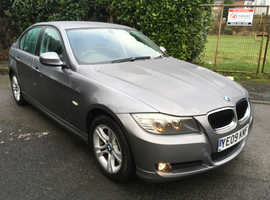 BMW 3 Series, 2009 (09) Grey Saloon, Manual Diesel, 102,000 miles