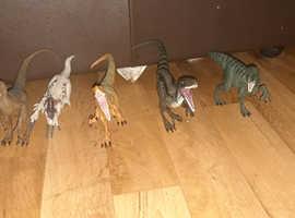 Jurassic world dinosaurs set