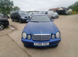 Mercedes Clk, 2000 (X) Blue Coupe, Automatic Petrol, 115,000 miles
