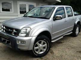 WANTED PICKUPS  Vauxhall Brava Isuzu Troopers Isuzu pick ups 4x4 2.5 2.8 3.0 3.1 Rodeo D-Max