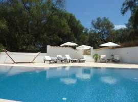Late Booking Deal: Villa Linakis, Arillas, Corfu, Greece. Sleeps 6+baby