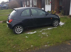 Ford Ka, 2007 (07) Black Hatchback, Manual Petrol, 84,305 miles