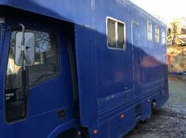 7.5 tonne iveco horse lorry
