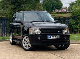 Land Rover Range Rover, 2002 (02) Black Estate, Automatic Petrol, 125,825 miles