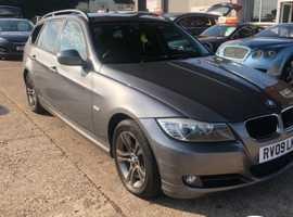 BMW 3 Series, 2009 (09) Grey Estate, Manual Petrol, 114,000 miles