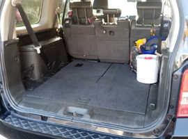 Nissan Pathfinder, 2005 (55) Black Estate, Manual Diesel, 149,432 miles