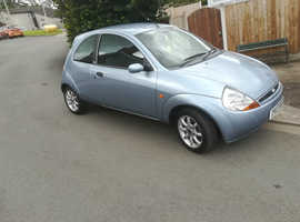 Ford Ka, 2007 (07) Blue Hatchback, Manual Petrol, 74,000 miles