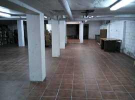 Freehold Comercial Warehouse - 3,552sq ft (330m2) Villajoyosa, Alicante. Spain