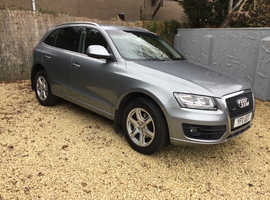 11 Plate AUDI Q5 2.0 Tdi Quattro*Full Heated Leather,Sat Nav, £9900!
