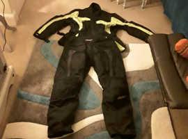 2 piece motorcycle suit