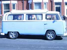 VW Type 2 camper-van