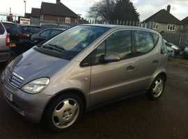 Mercedes A-CLASS, 2001 (51) Silver Hatchback, Automatic Petrol, 130 miles