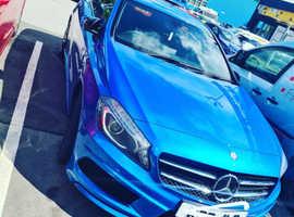 Mercedes A-CLASS, 2012 (62) Blue Hatchback, Manual Diesel, 67,269 miles
