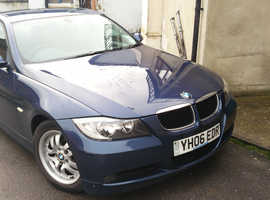 BMW 3 SERIES 318D ES (2006). 2 owners from new. Diesel. Manual. 4 doors. Blue. Very well looked after car.