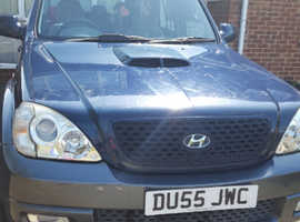 Hyundai Terracan, 2005 (55) Blue Estate, Manual Diesel, 106,701 miles