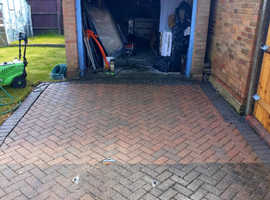 Block paving drive patio professional cleaning
