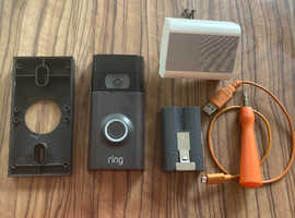 Ring doorbell 2nd generation with chime