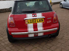 Mini MINI, 2002 (02) Red Hatchback, Manual Petrol, 160,000 miles